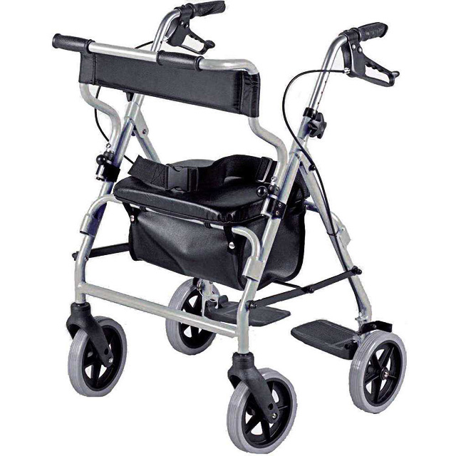 2 in 1 Rollator and Transit Chair