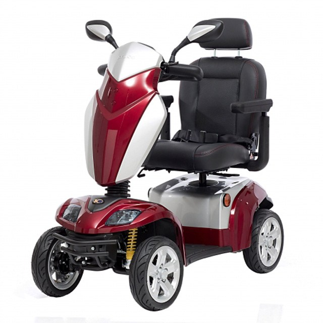 Kymco Agility - Cherry Red