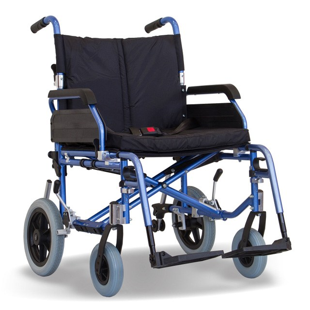 Aktiv X4 Heavy Duty Aluminium Transit Wheelchair