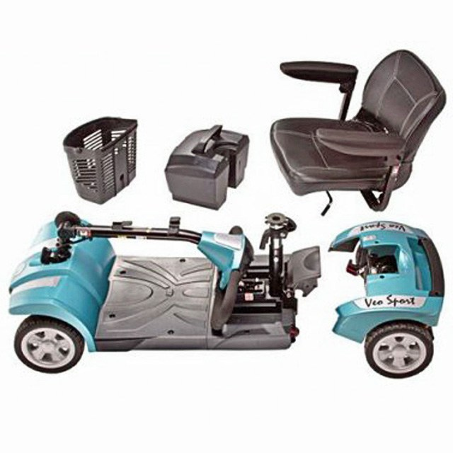 Electric Mobility Rascal Veo Sport - Aquamarine Disassembled