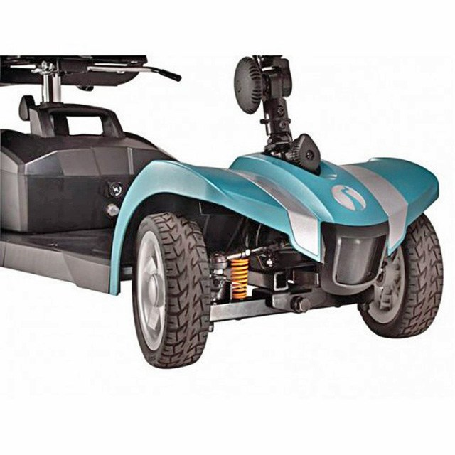 Electric Mobility Rascal Veo Sport - Aquamarine Front Suspension