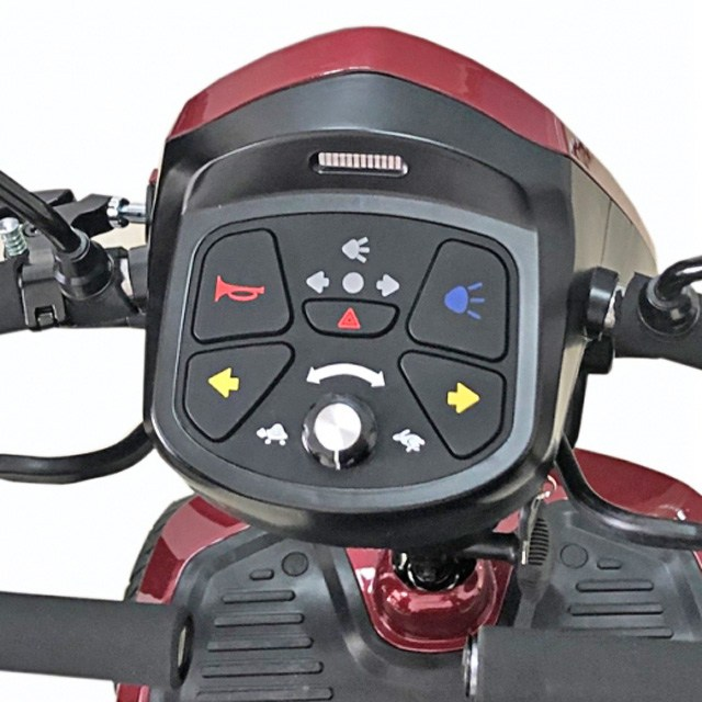 Kymco Komfy 8 - Easy To Use Controls