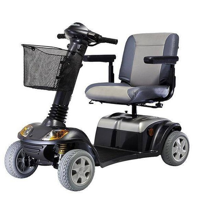 Kymco Super 8 - Side View, Metallic Graphite Grey