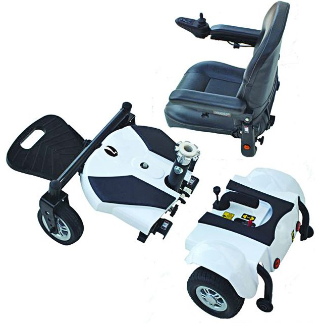 Electric Mobility Rascal Rio Powerchair - Disassembled