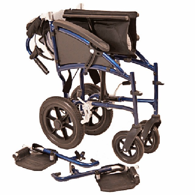 One Rehab Sonic Transit Wheelchair - Disassembled/Folded